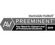 AV Preeminent 2019